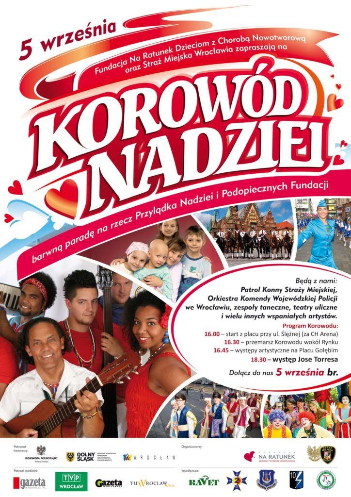 Plakat Korowod 724x1024 Zapraszamy na Korowód Nadziei!