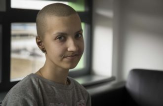 Liza z Ukrainy walczy o życie we Wrocławiu