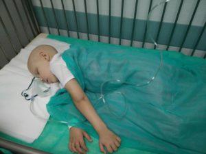 Chłopiec od czterech lat choruje na raka