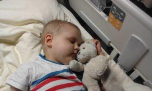 Chłopiec zachorował na białaczkę