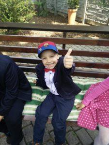 Chłopiec choruje na raka od czterech lat