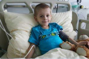 Sebastian walczy z białaczką