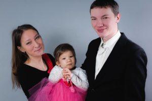 Przy ciężko chorej małej Agusi cały czas są rodzice