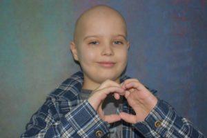 Wojtek leczy się w klinice onkologii dziecięcej