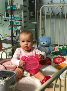 Dziewczynka ma lekooporną białaczkę