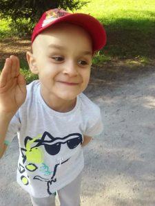 Chłopiec ma raka
