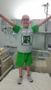 Chłopiec ma drugi raz raka