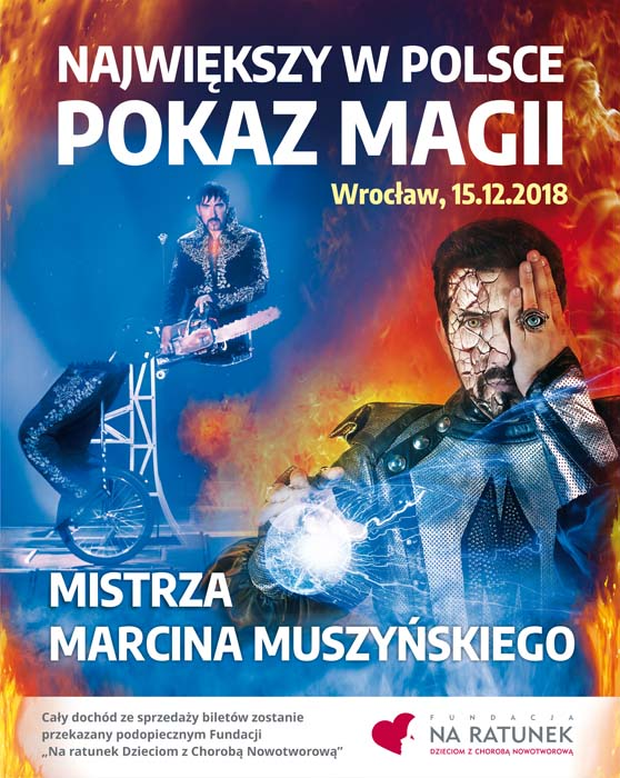 POKAZ MAGII 558x700 OK 003 Zapraszamy na największy w Polsce Pokaz Magii