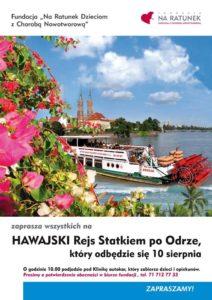 Zapraszamy na Hawajski Rejs Statkiem po Odrze