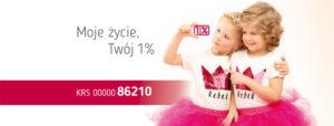 1 procent Fundacja Na Ratunek Dzieciom z Chorobą Nowotworową
