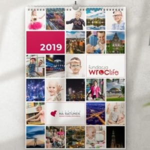 Kalendarz charytatywny WROCŁAW NA RATUNEK 2019