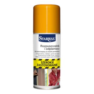 Zmywacz do usuwania etykiet i kleju, rozpuszczalnik i odplamiacz STARWAX