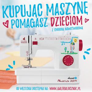 Maszyna do szycia Łucznik Nadzieja 2019