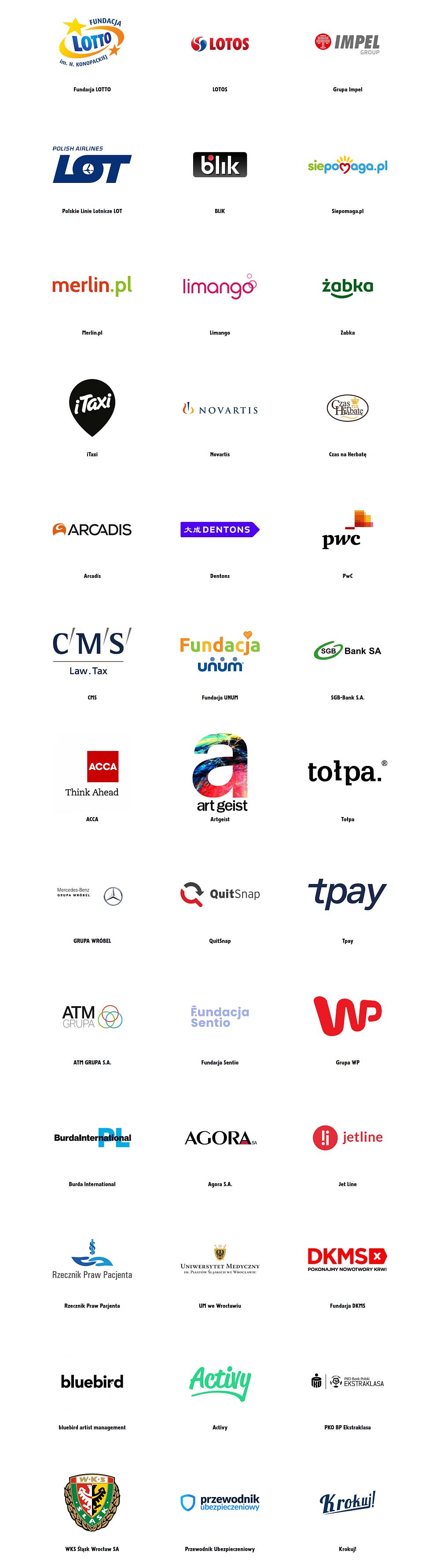 Złota Wstążka Partnerzy Kampanii