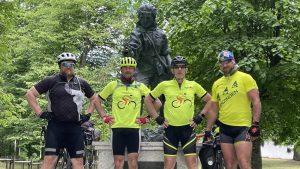Green Tour do Przylądka Nadziei. Wyzwanie drużyny Orange Polska